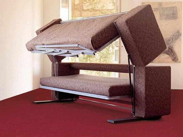 Small Space Sofa Contemporary Folding Beds Design Ideas