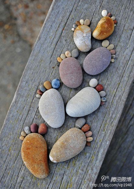 Creative pebbles (2/2) _ Follow the leader