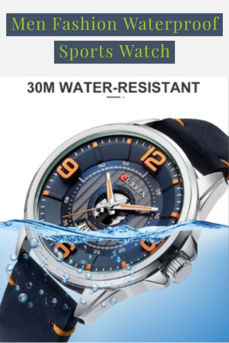 Men Fashion Waterproof Sports Watch Waterproof Sports Watch Sports Watch Sport Watches