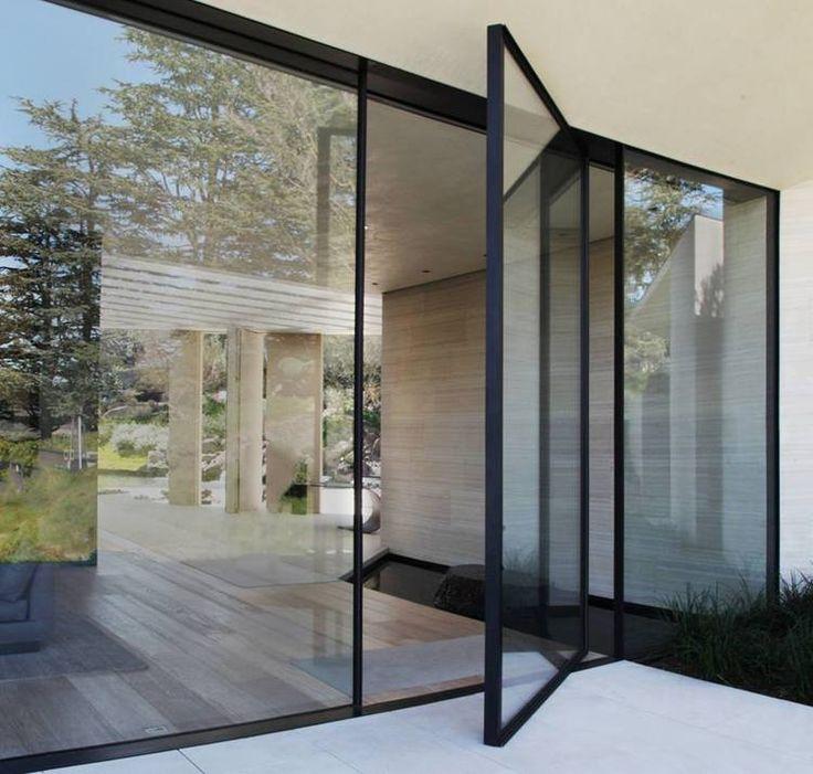 Vitrocsa Large Glazed Sliding Panel Minimal Windows Not