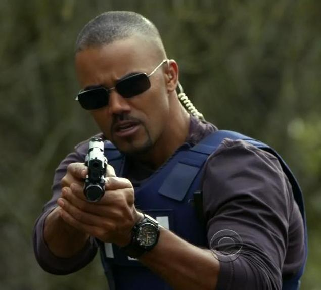 Criminal Minds Shemar Moore And October On Pinterest