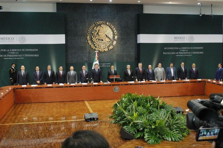 <p>*Participa Corral en reunión de gobernadores con el presidente Enrique Peña Nieto.<br /> <br /> Ciudad de México.-