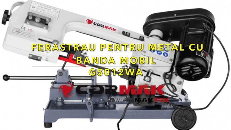 Ferastrau pentru metal cu banda mobil Cormak G5012WA   eMasiniUnelte ro