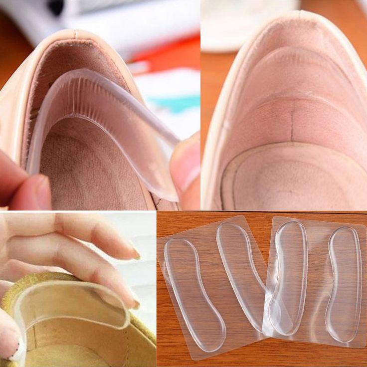 Moderne gel de silicone protecteurs chaussures à talons chaussures à talons hauts talon Pad bâton L035654