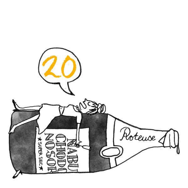 This is the Karo Rigaud 2014 Advent Calendar…#20 - Champagne - Nabuchodonosor
