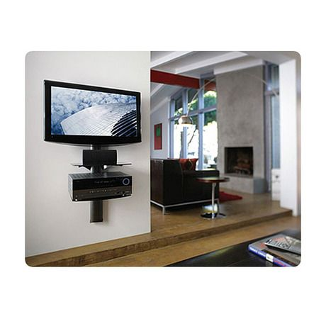 17 best images about tv wall mounts on pinterest wall for Wall cabinets for tv components