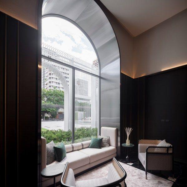 The Reserve Sathorn Pruksa Real Estate Pcl Interior Design By Pia Interior Design Co Ltd Hotel Architecture Interior Design Design