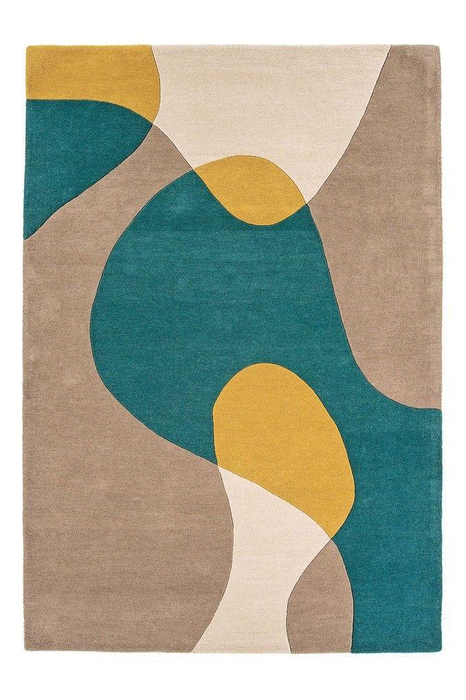 Geo Wool Rich Rug By Asiatic Rugs