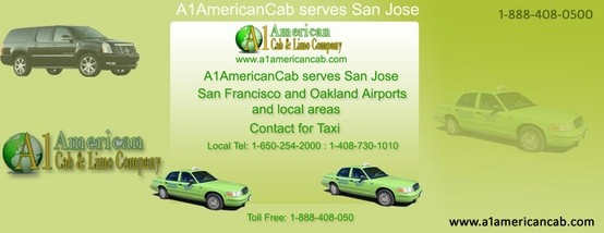 A1-American Cab provides best quality taxi services To/From Oakland Airport, San Jose Airport and San Francisco International Airport. We are guaranteed lowest rates on our local taxi services.