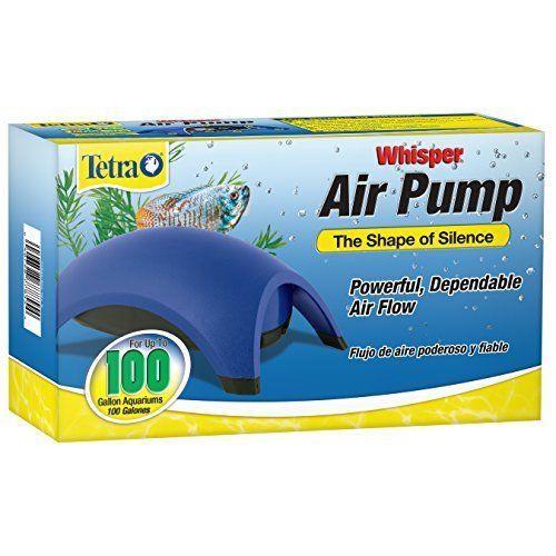 Air Pump For Fish Tank Tetra 60-100 Gallon Aquarium Silence Powerful Air Flow #Tetra