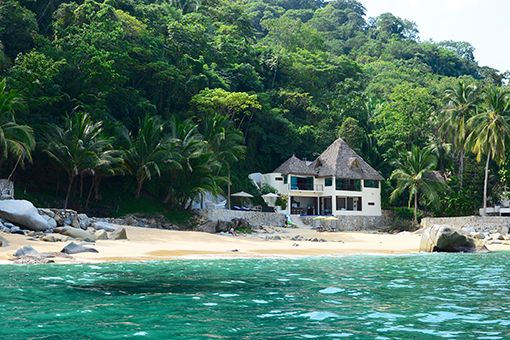Image result for isolated beach house