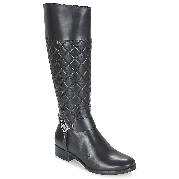 MICHAEL Michael Kors FULTON HARNESS BOOT QUILTED Noir