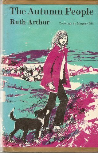 The Autumn People by Ruth Arthur, 1973, cover illustration by Margery Gill