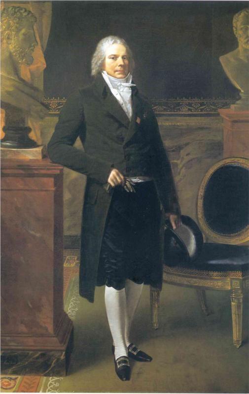 Portrait of Charles Maurice de Talleyrand-Perigord - Pierre-Paul Prud'hon, 1817