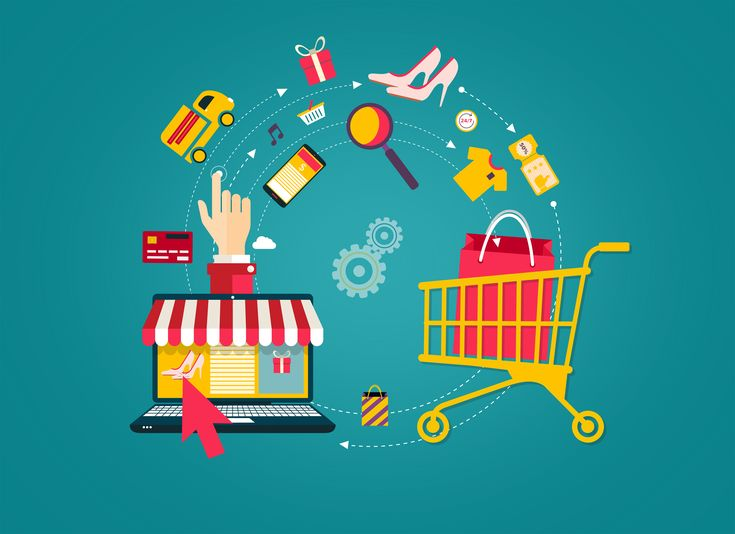 Get an attractive and intuitive website for your online shopping store to get more visitors and more leads. #eCommerce-Web_Design