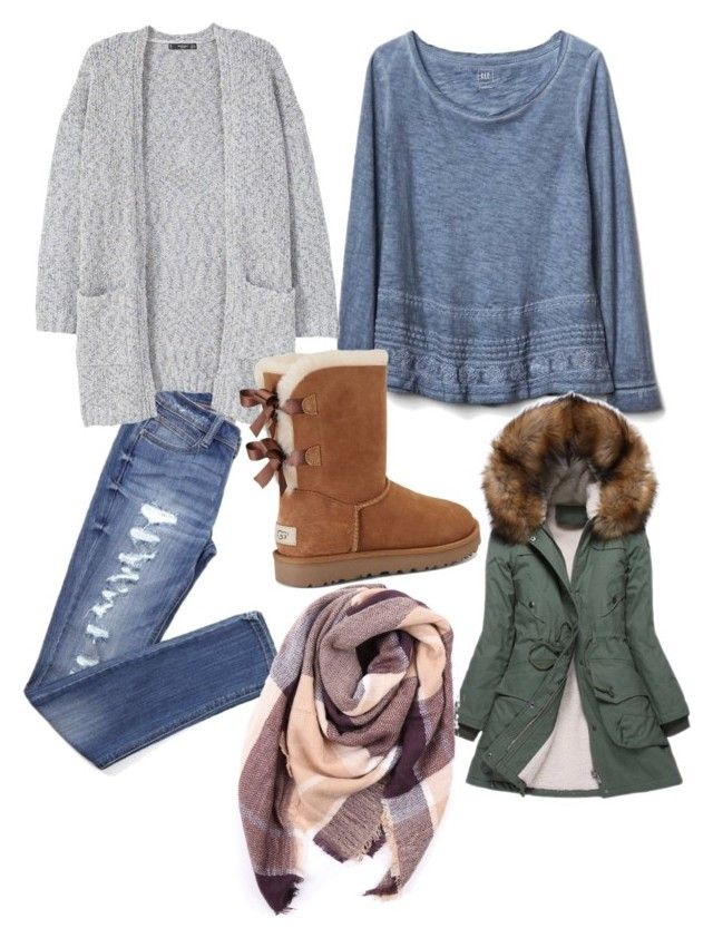 """""""Untitled #103"""" by heta-makinen on Polyvore featuring Gap, MANGO, UGG, Just Female and Everest"""