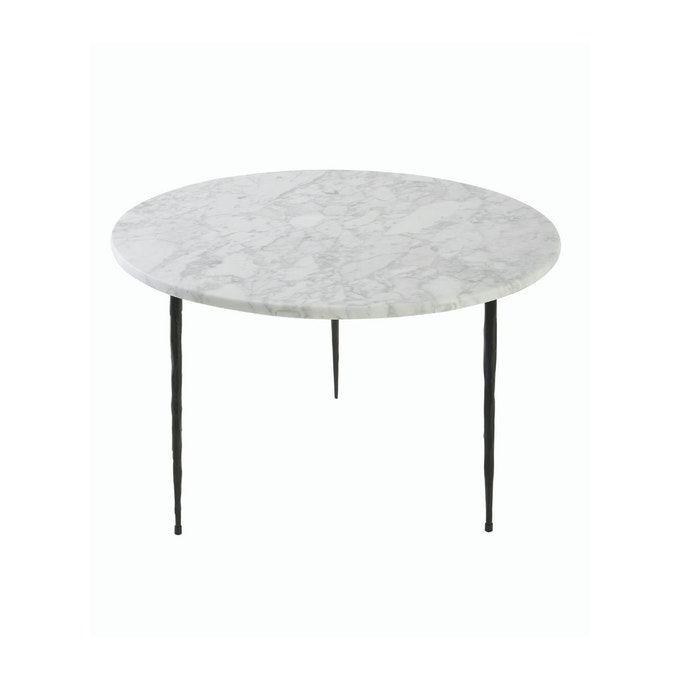 Table Basse Gaston Marbre Blanc 50 Cm X 50 Cm X 33 Cm Blanc Signature La Redoute En 2020 Table Basse Marbre Blanc Marbre