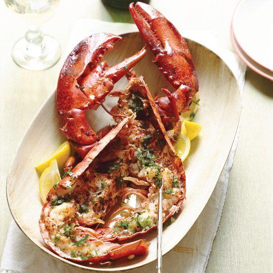 Roasted Lobsters with Verjus and Tarragon    Food & Wine