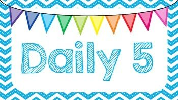 """Use this product as posters for Daily 5 centers and matching clip chart.I have also included a """"Work with Teacher"""" slide in order to use with the clip chart rotation if you choose.If you use different names for your centers, let me know and I will do my best to create those for you!Ashton Allison"""