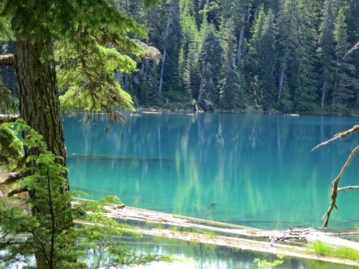 Clearwater Lakes, Kitimat, BC.  Been here - it is gorgeous and the water is stunning.