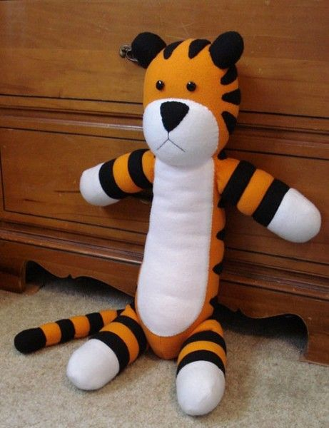 I've decided to make a Hobbes for Peter... It will probably take me a couple tries- but I am excited!