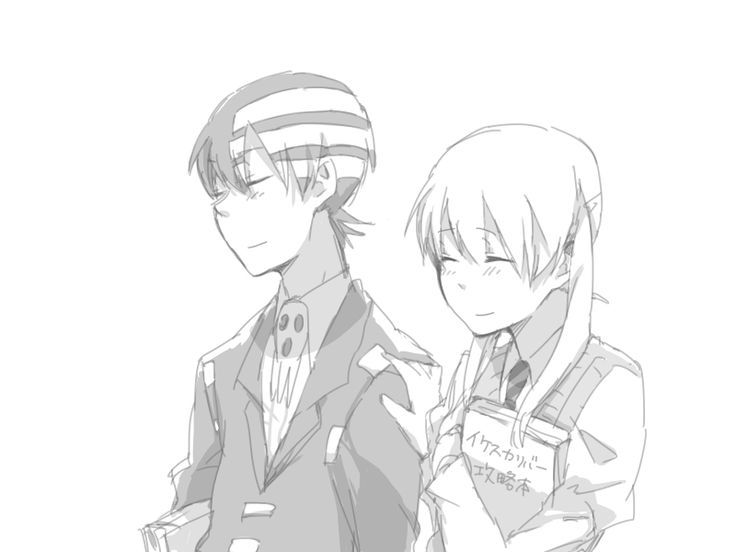 soul eater, maka albarn, death the kid