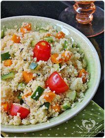 O melhor restaurante do mundo é a nossa Casa: Cuzcuz marroquino com legumes