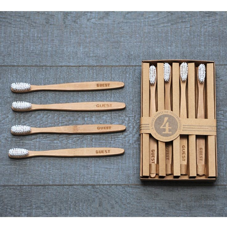 Guest Toothbrush Set