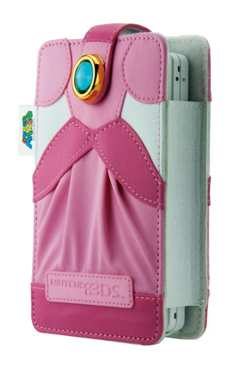 Princess Peach Nintendo 3DS Case
