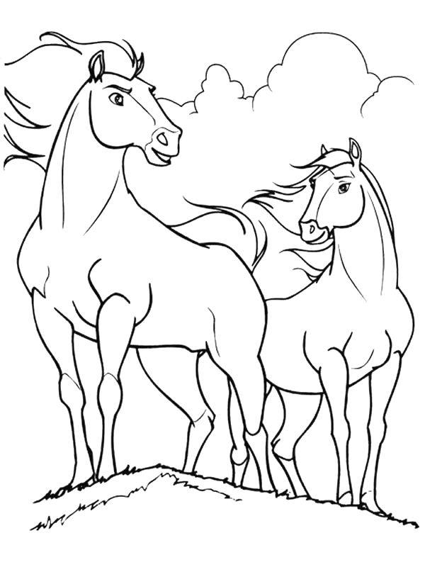 Spirit Riding Free Coloring Pages - Best Coloring Pages ...