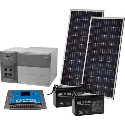 Npower Solar Power Package 1800 Watts Battery Backup