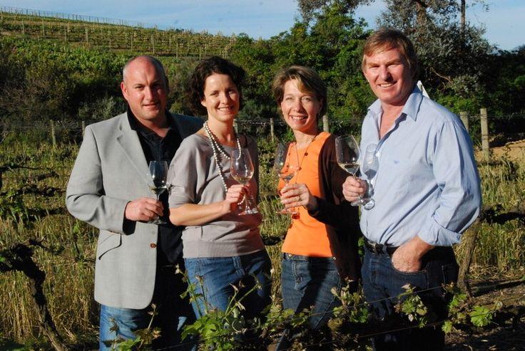 Business Partners, Chef George Jardine & wife Louise Jardine, Kathy & Gary Jordan