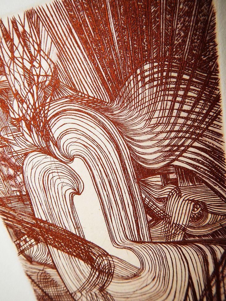 Yoru (Part) / Engraving 2013