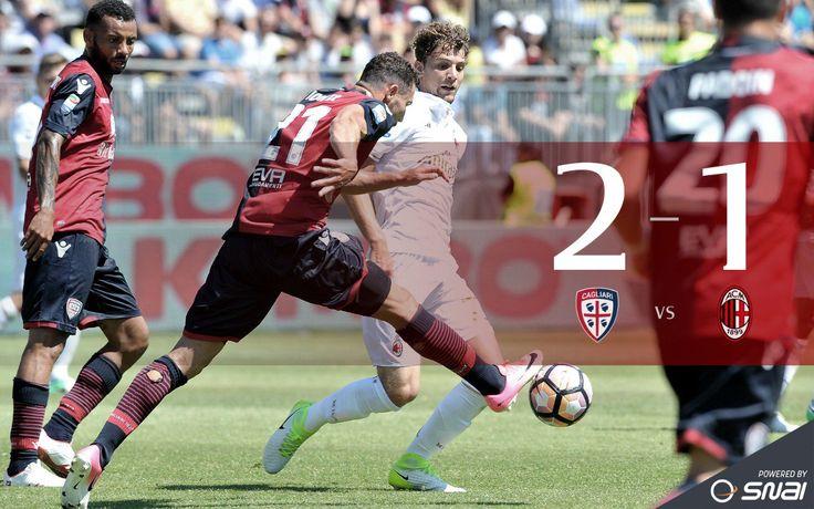 #CagliariMilan #LastMatch #final 2-1 Schedule: J. Pedro (cagliari), LAPADULA (RIG) (MILAN), Pisacane (cagliari)