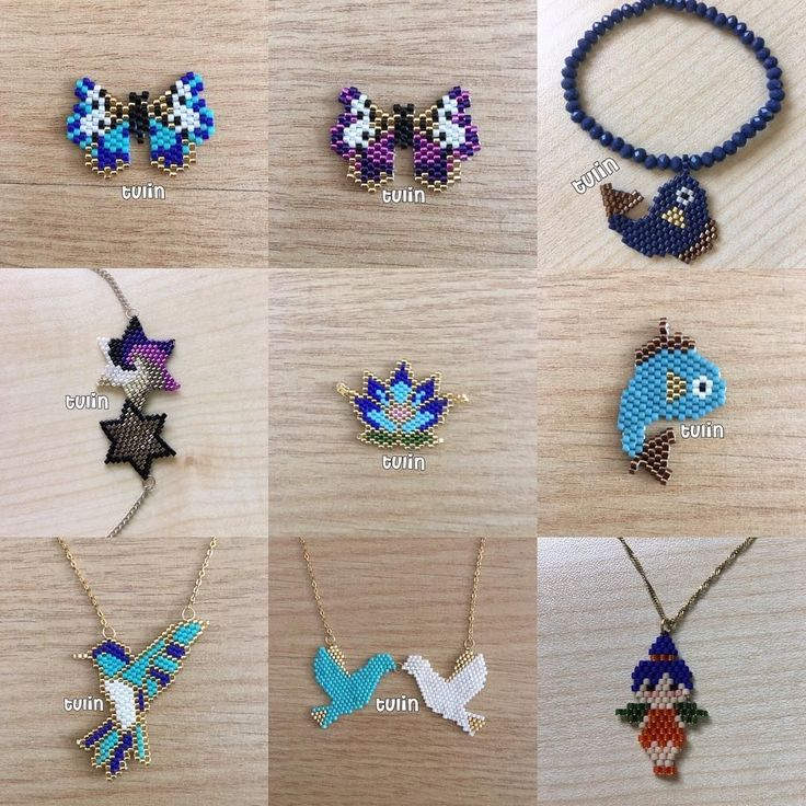 Herşeyden biraz #miyuki #peyote #brickstitch #handmade #elişi #bileklik #kolye #bracelet #necklace