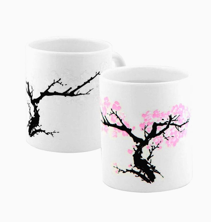 Tree Blossom Morphing Coffee & Beverage Color Changing Mug