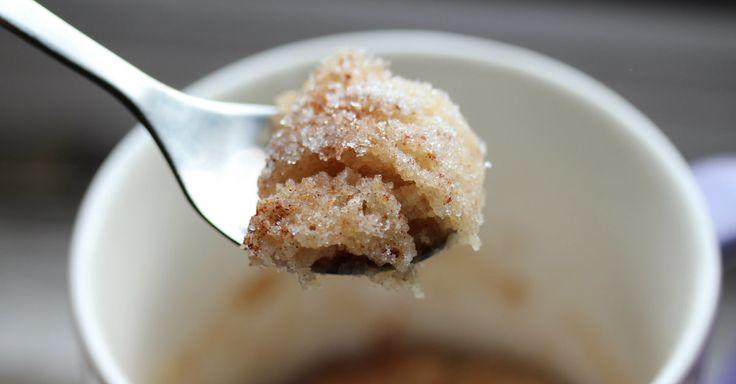 Hit By A Sugar Craving und brauchen etwas schnelles? Dieser Snickerdoodle-Kuchen wird gelesen …
