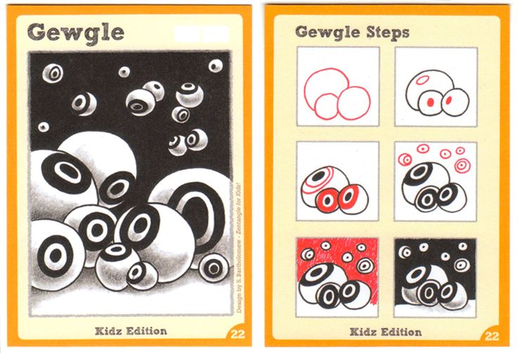 BEEZ in the Belfry: Tangle Card Challenge #7 - Gewgle