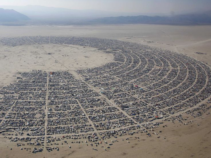 Burning Man 2013 - This Is What It Looks Like When 68,000 People Build A Temporary City In The Nevada Desert