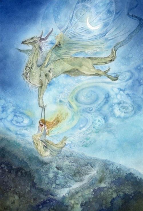 Solitude of the Sky    By Stephanie Pui-Mun Law: Stephanie Puimun, Favorite Artists, Puimun Law, Pui Mun Law, Stephanie Pui Mun, Fantasy Art, Puimun S Deviantart, Sky Art, Stephanie Law