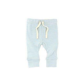 WILSON & FRENCHY BLUE STRIPE LEGGING - $24.95 - 100% cotton blue stripe rib legging with soft elastic waist. #sweetcreations #baby #boy #designer #fashion #wilson&frenchy