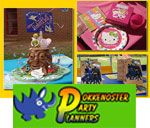 Pokkenoster Party Planners - Gauteng, offers a full party planning service including planning & setup; theme decor & accessories; kids tables & chairs; balloons etc.