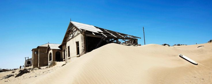 Once a prosperous diamond mining town, Kolmanskop has been reclaimed by sand dunes. (Mark Read) (Credit: Mark Read)