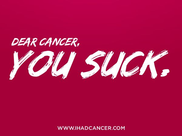 Dear Cancer