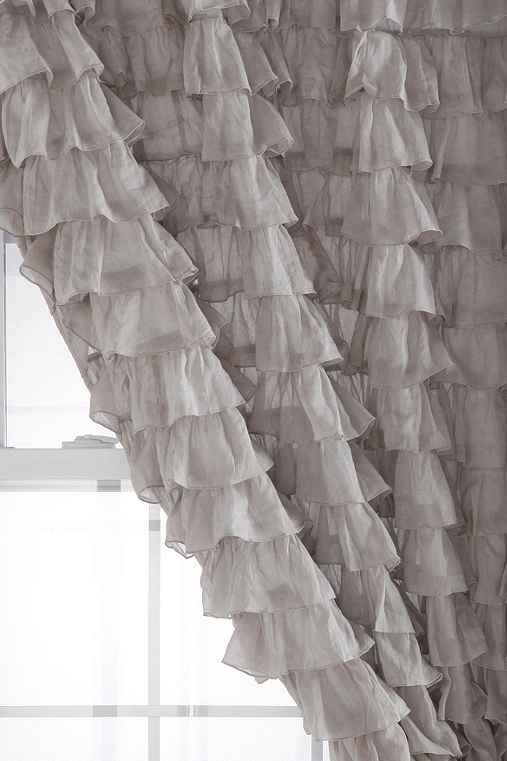We love these ruffle curtains! | Pretty Little Liars