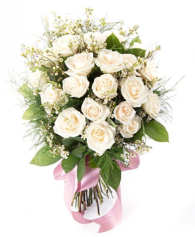 Cadoul ideal pentru a-l transmite partenerelor de afaceri importante, intrucat este de o eleganta desavarsita, iar in limbajul international al florilor trandafirii crem semnifica respect, loialitate si recunostinta