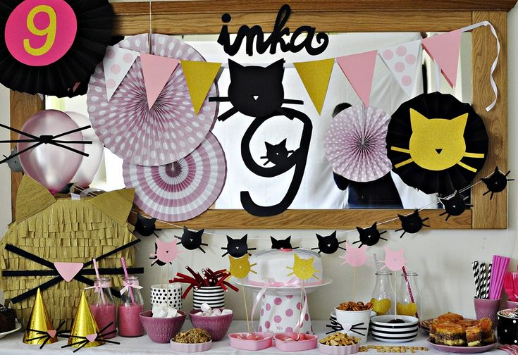 kids party inspirations kitty party