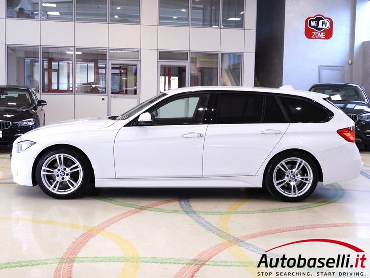BMW 320 D TOURING MSPORT AUTOMATICA Cambio Steptronic Sport + Pad + Navigatore + Head up display + Interni in pelle + Fari Xeno + Bluetooth +Retrocamera + Cerchi in lega 18 + Park distance control ant/post + Servotronic + Comandi al volante + Unico proprietario + del 2013