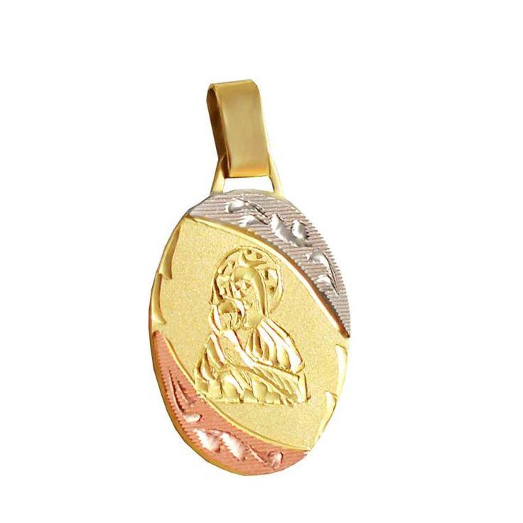 Χ183P -Χρυσό μενταγιόν Παναγία