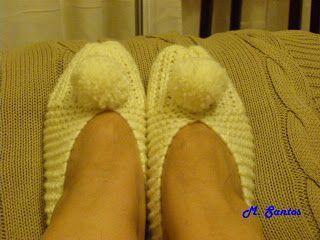 Entre lavanda y romero: PANTUFLAS, paso a paso